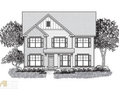 Fairburn Single Family Home New: 6007 Park Close