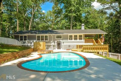 Douglasville Single Family Home Under Contract: 4080 Highway 92