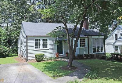 Decatur Single Family Home New: 436 E Pharr Rd