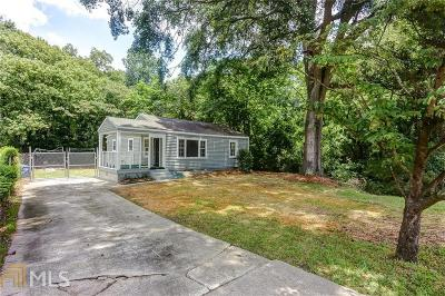 Grove Park Single Family Home Under Contract: 2147 Baker Rd