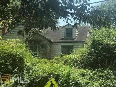 Dekalb County Single Family Home New: 1827 McLendon