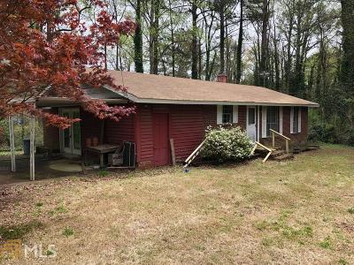 Douglas County Single Family Home Under Contract: 6852 Old Beulah Rd
