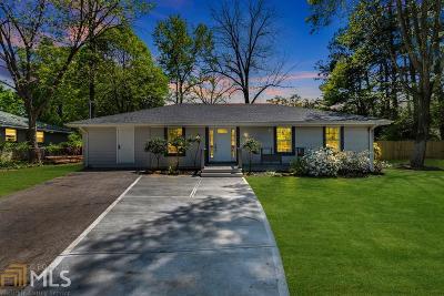 Alpharetta Single Family Home New: 204 Brooke Dr