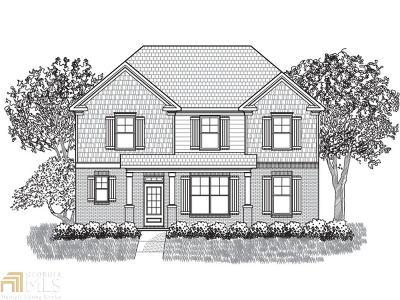 Fairburn Single Family Home New: 6016 Park Close
