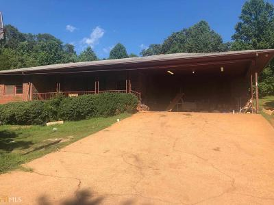 Habersham County Single Family Home Under Contract: 1458 Camp Creek