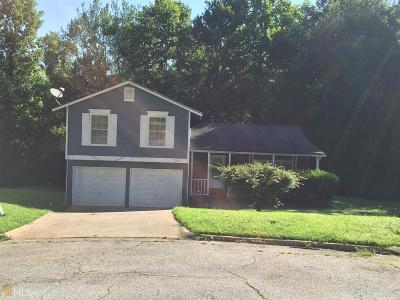 Lithonia Single Family Home New: 6091 Old Wellborn Trce