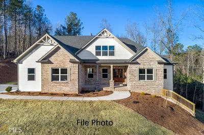 Dawsonville Single Family Home Under Contract: 584 Oak Forest Dr