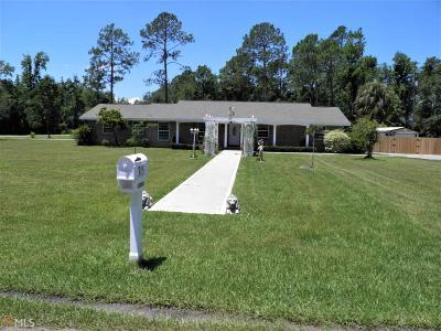 Kingsland GA Single Family Home For Sale: $279,900