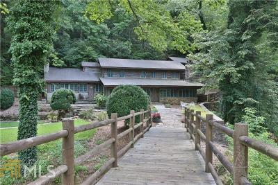 Dahlonega Single Family Home For Sale: 3066 Highway 52