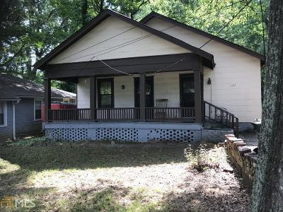 Fulton County Multi Family Home Under Contract: 3284 Stillwood Dr