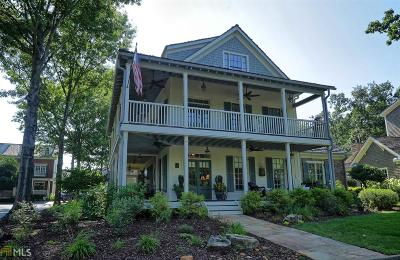 Dawsonville Single Family Home New: 11 Waterfront Park Ct