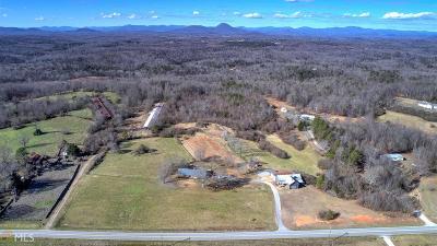 Habersham County Farm For Sale: 2989 Pea Ridge Rd