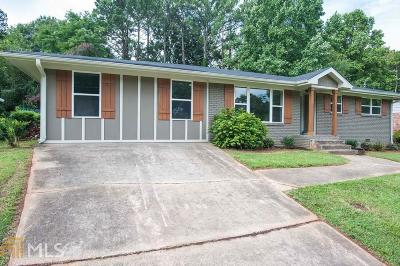 Decatur Single Family Home Under Contract: 2491 Whites Mill Ln