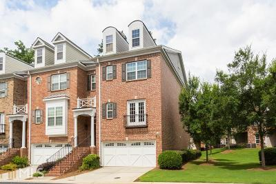 Alpharetta Condo/Townhouse Under Contract: 12820 Doe Dr