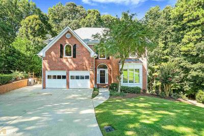 Roswell Single Family Home Under Contract: 9145 Twelvestones Dr