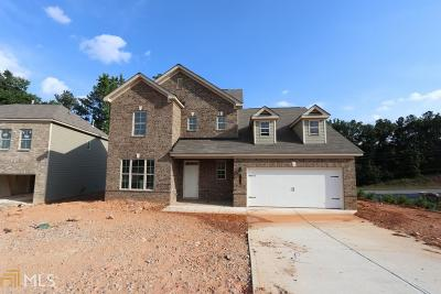 Clayton County Single Family Home New: 1596 Nations Trl