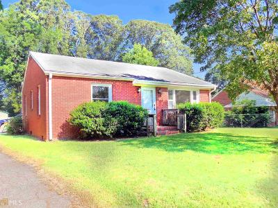 Griffin Single Family Home Under Contract: 1823 Old Atlanta Rd