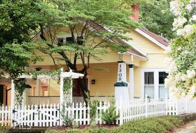 Atlanta Single Family Home New: 1309 McLendon Ave