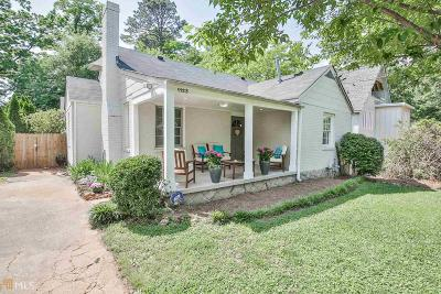 Decatur Single Family Home New: 1123 S Candler St