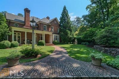 Roswell, Sandy Springs Single Family Home For Sale: 58 Finch Forest Trl