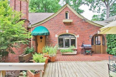 Atlanta Single Family Home Back On Market: 778 Brookridge Dr