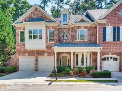 Gwinnett County Condo/Townhouse Under Contract: 6203 Spalding