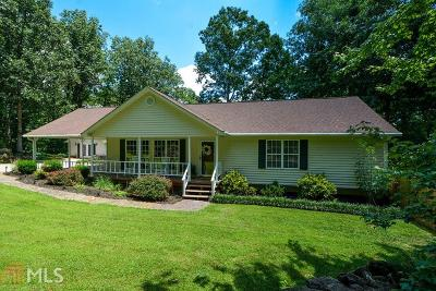 Dawsonville Single Family Home New: 262 Hickory Hills Dr