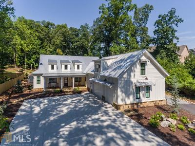 Cobb County Single Family Home New: 3431 Knight Rd