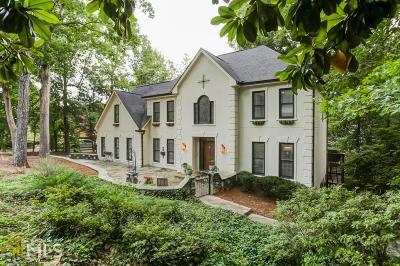 Atlanta Single Family Home New: 220 Wing Mill Rd