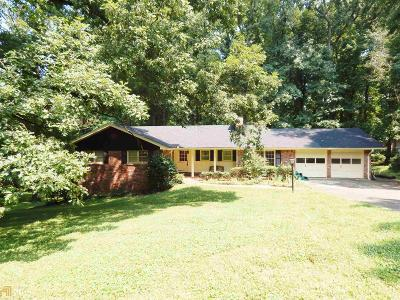 Stone Mountain Single Family Home New: 2121 Skytop Dr