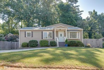 Atlanta Single Family Home New: 1689 Bridgeport Dr