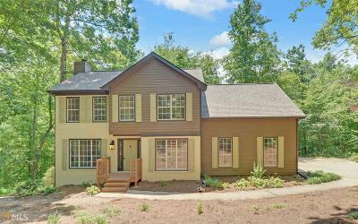 Dawsonville Single Family Home New: 242 Spring Ridge Ct
