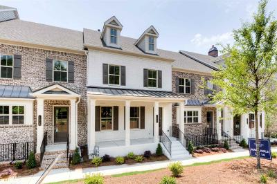 Alpharetta Condo/Townhouse Under Contract: 1926 Forte Ln