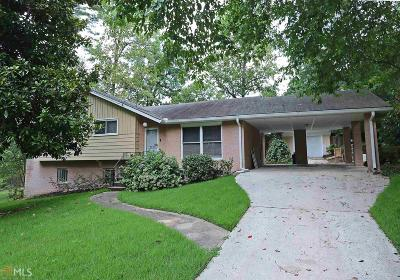 Decatur Single Family Home Under Contract: 2975 Atterberry Ct