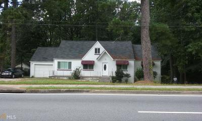 Clayton County Single Family Home New: 5603 Jonesboro Rd