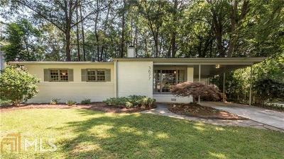 Chamblee Single Family Home Under Contract: 3677 Vanet Rd