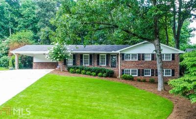Brookhaven Single Family Home Under Contract: 3952 Parkcrest Dr