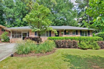 Decatur Single Family Home Under Contract: 1047 N Valley Dr