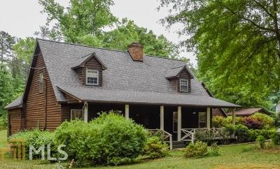 Covington Single Family Home New: 166 Deep Step Rd