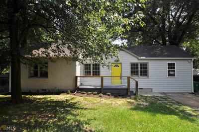Decatur Single Family Home New: 3453 Beech Dr