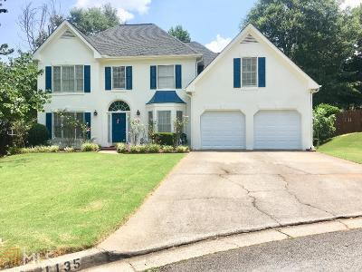 Lawrenceville Single Family Home New: 1135 Julia Way