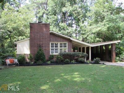 Chamblee Single Family Home New: 3861 Greenhill Dr