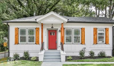 West End Single Family Home New: 1416 Oglethorpe Ave