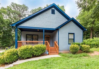 Atlanta Single Family Home New: 1316 Plaza Ave