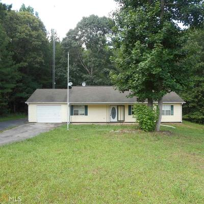 Newnan Single Family Home New: 1227 J D Walton Rd
