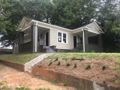 Atlanta Single Family Home New: 1044 Dill Ave