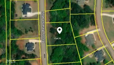 Covington Residential Lots & Land New: 290 Alcovy Reserve Way #31