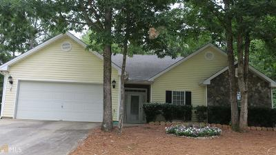 Social Circle Single Family Home Under Contract: 531 Lindsey Way