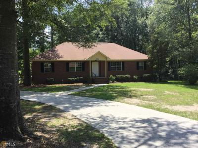 Statesboro Single Family Home For Sale: 539 Pleasant Point Rd