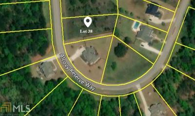 Covington Residential Lots & Land New: 220 Alcovy Reserve Way #38